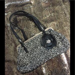 Handbags - Black and white small purse